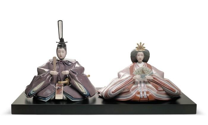 LladroHina Dolls FestivalPorcelain Figurine