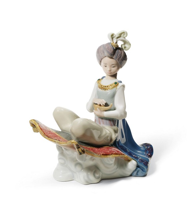 LladroALADDINPorcelain Figurine