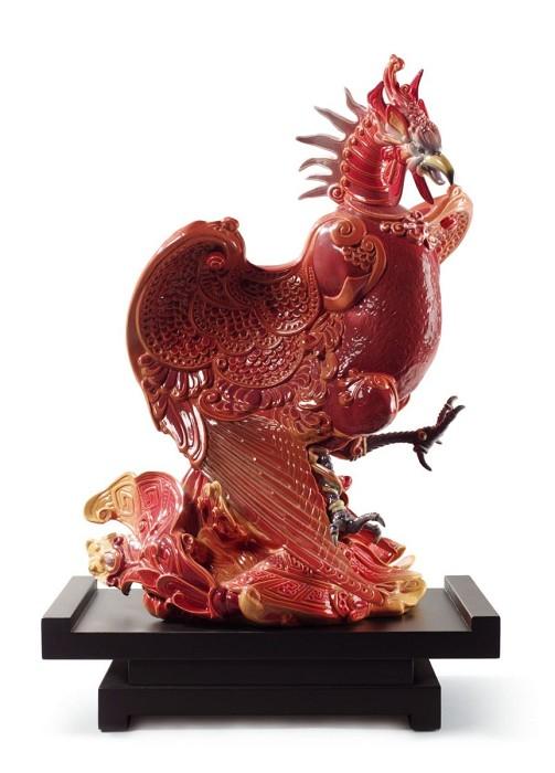 LladroRise of The PhoenixPorcelain Figurine