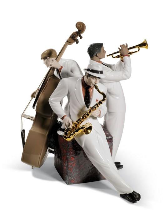 LladroJazz TrioPorcelain Figurine