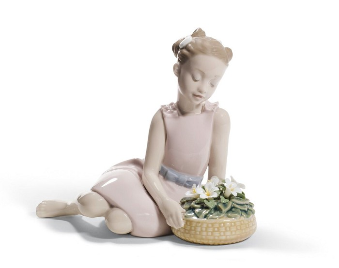Lladro Flower Arrangement