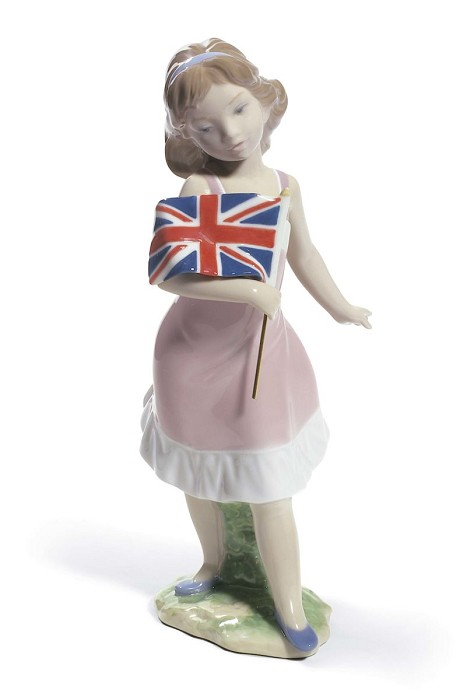 Lladro Pride In Your Kingdom Porcelain Figurine