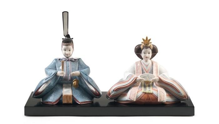 LladroHina Dolls Figurine 2012Porcelain Figurine