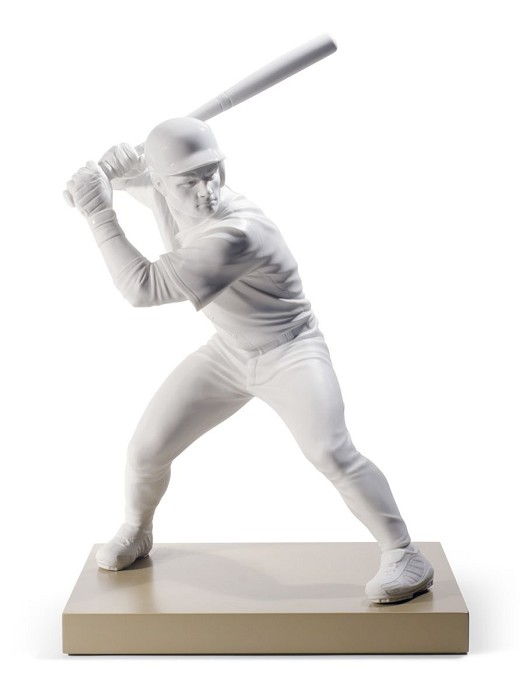 Lladro SWING FOR THE FENCES Porcelain Figurine