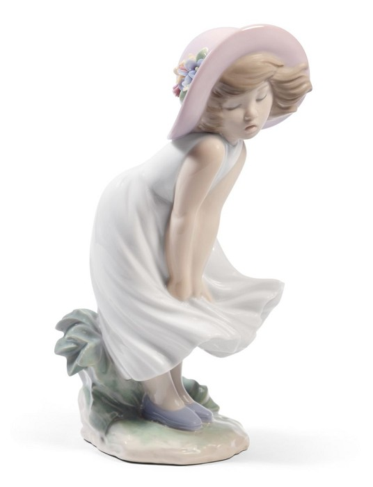 Lladro Adorable Little Marilyn Mixed Media Sculpture