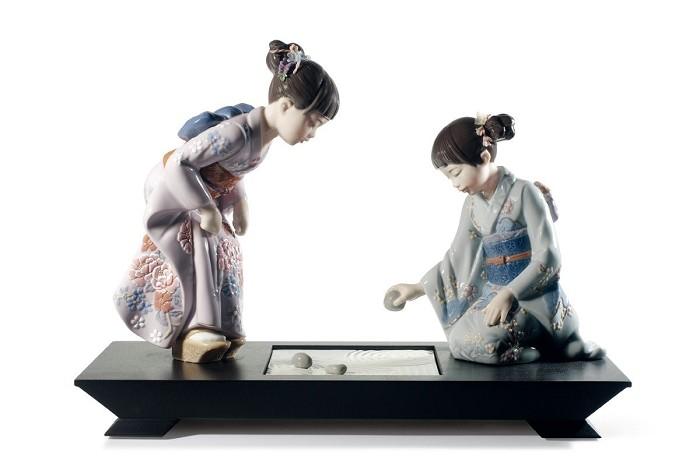 LladroJapanese GardenPorcelain Figurine