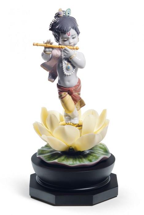 LladroBal GopalPorcelain Figurine