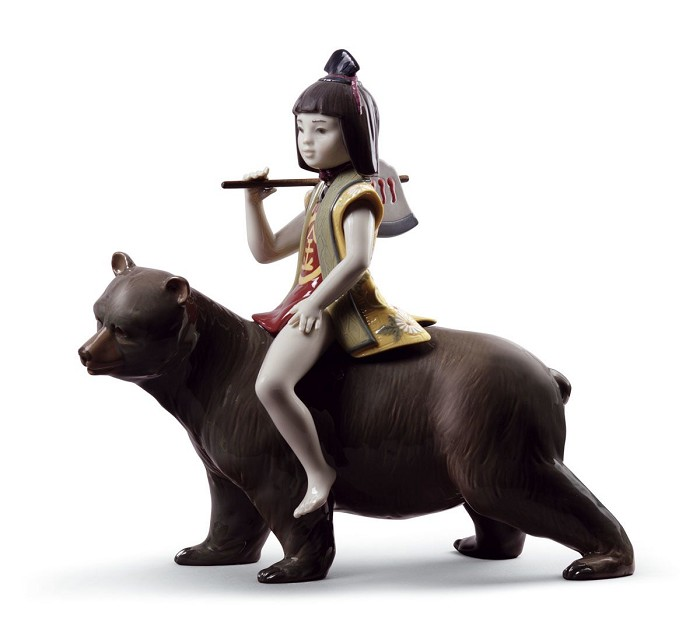 Lladro Kintaro and The Bear