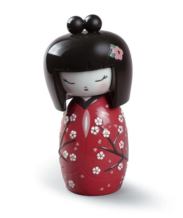 LladroKokeshi IIPorcelain Figurine