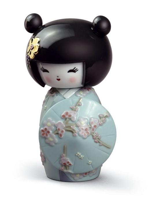 LladroKokeshi IIIPorcelain Figurine