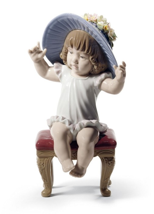 Lladro Dress up Time Porcelain Figurine