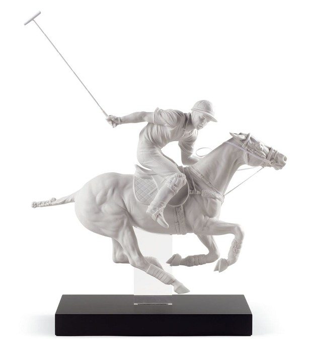 Lladro POLO PLAYER Porcelain Figurine
