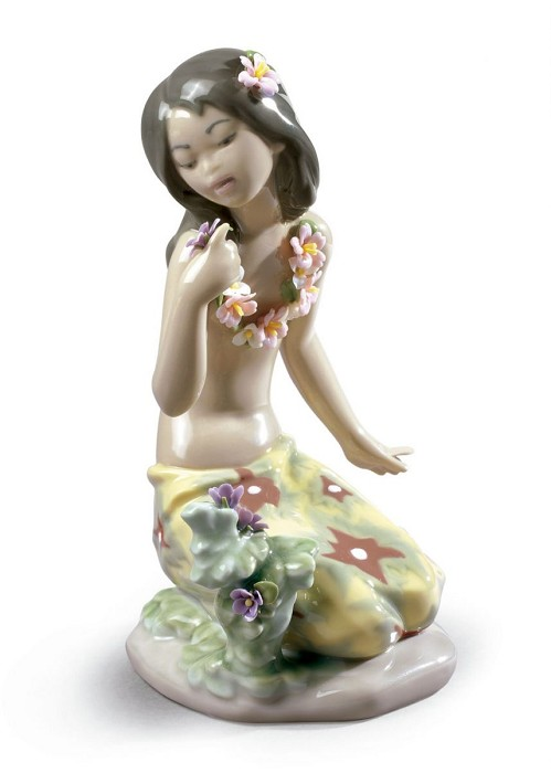 LladroIn a Tropical GardenPorcelain Figurine