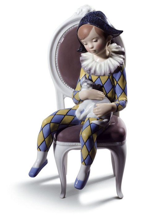Lladro Little Harlequin