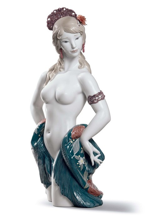 Lladro Spanish Beauty Porcelain Figurine