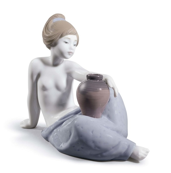 LladroLeticiaPorcelain Figurine