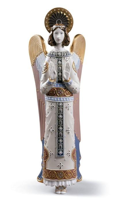 LladroRomanesque AngelPorcelain Figurine