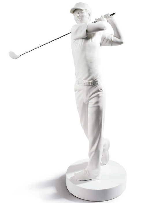 LladroGolf ChampionPorcelain Figurine