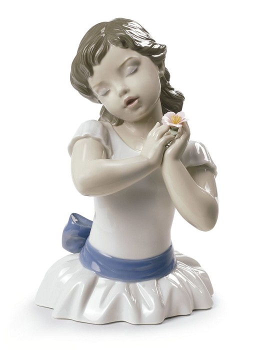 Lladro Beautiful Blossom Porcelain Figurine