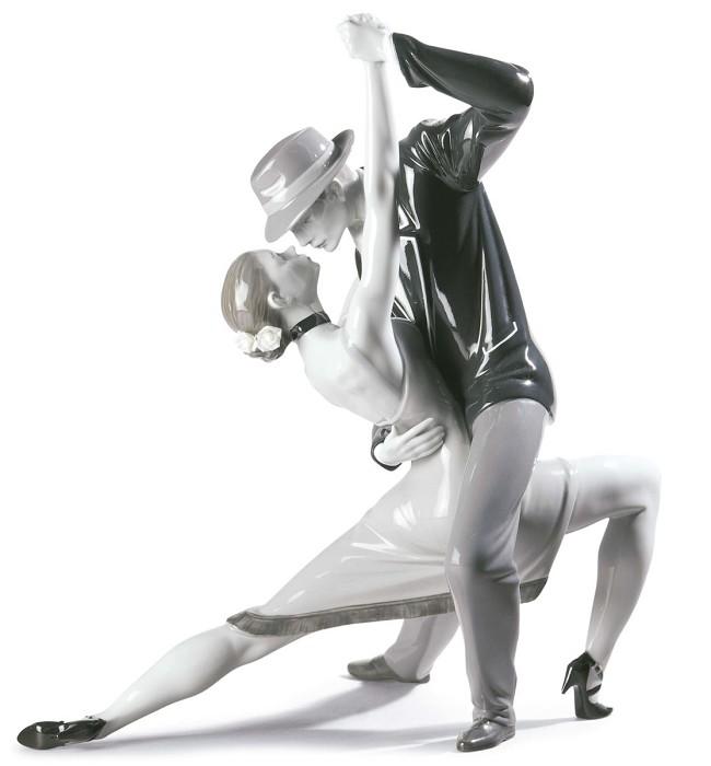 LladroPassionate Tango CoupleMixed Media Sculpture