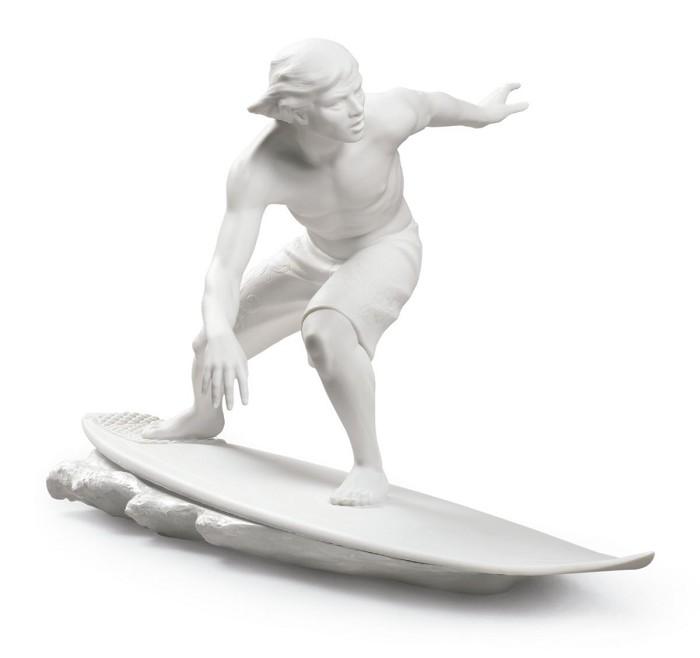 LladroSOUL SURFERPorcelain Figurine