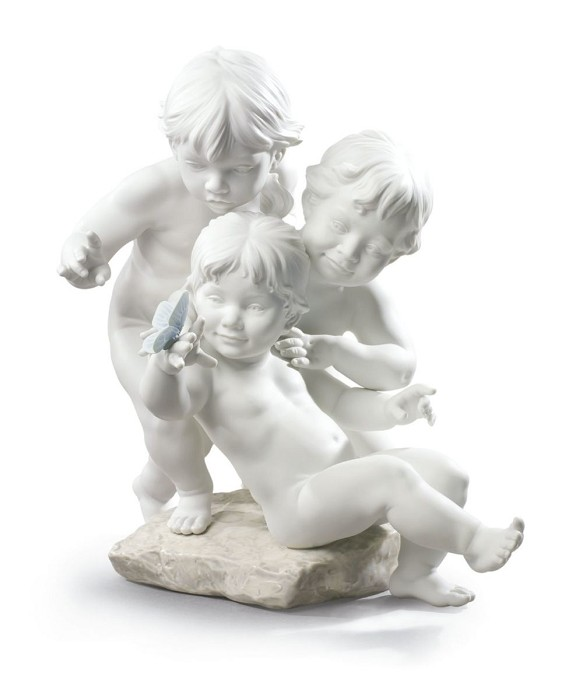Lladro Children's Curiosity Porcelain Figurine