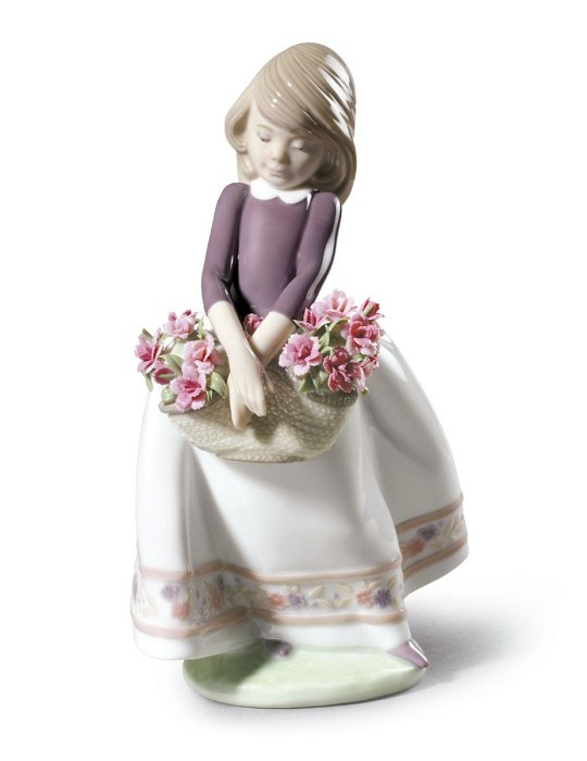 Lladro May Flowers (Special Version)