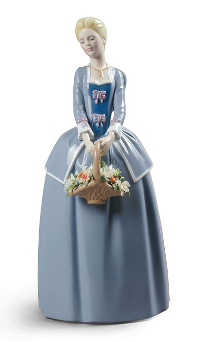 LladroGarden BlossomsPorcelain Figurine