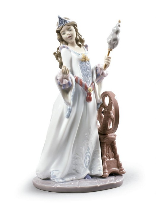 Lladro SLEEPING BEAUTY Porcelain Figurine
