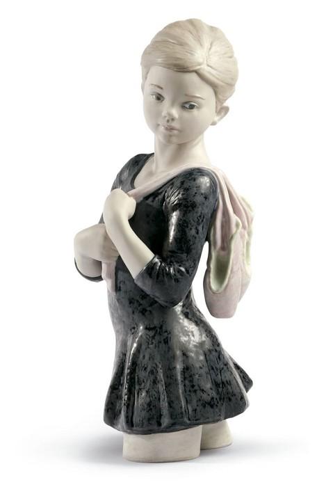 LladroMy Dance Class BalletPorcelain Figurine