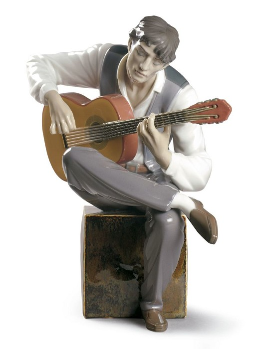 Lladro Flamenco Feeling Porcelain Figurine