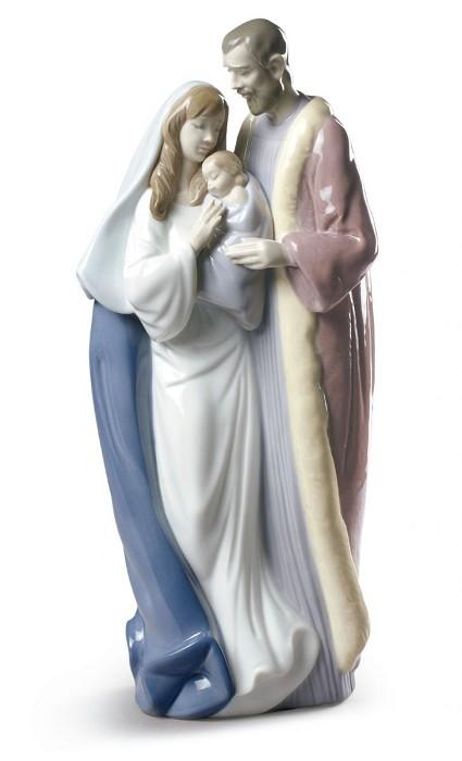 LladroBlessed FamilyPorcelain Figurine