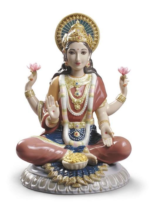 LladroGoddess Sri Lakshmi