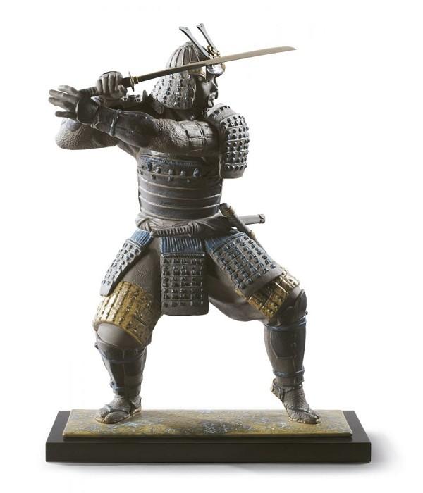 LladroSamurai WarriorPorcelain Figurine
