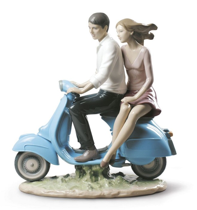 Lladro Riding with You