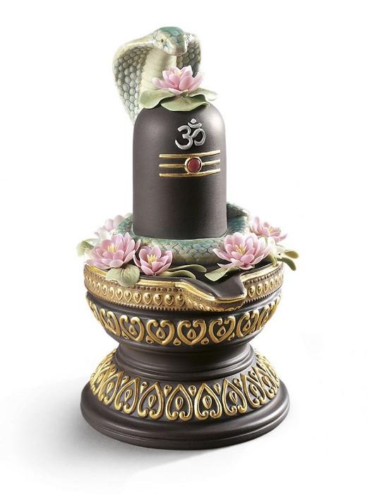 LladroLingam. Golden LustrePorcelain Figurine