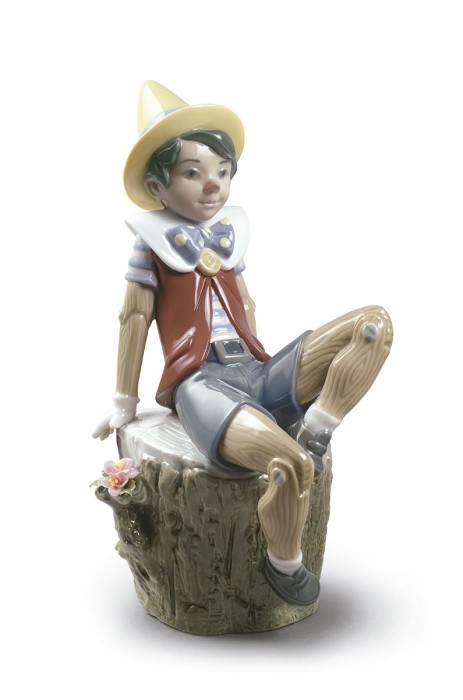 LladroPINOCCHIOPorcelain Figurine
