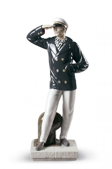Lladro Searching New Horizons Porcelain Figurine