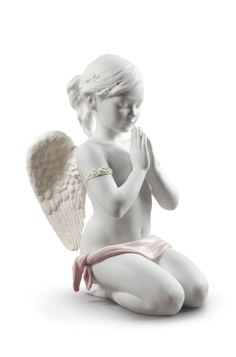 Lladro Heavenly Prayer Porcelain Figurine