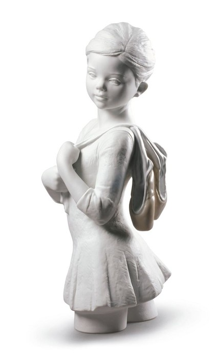 Lladro My Dance Class Ballet Mixed Media Sculpture