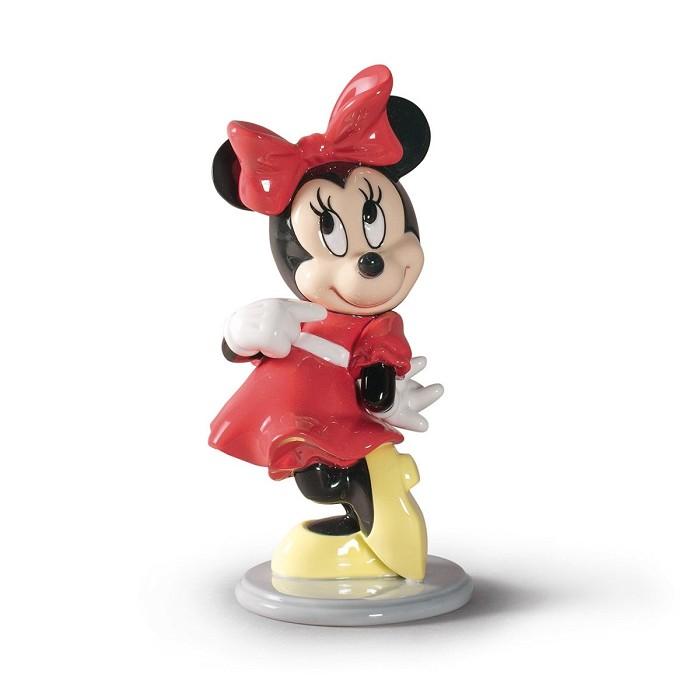 LladroMinnie MousePorcelain Figurine
