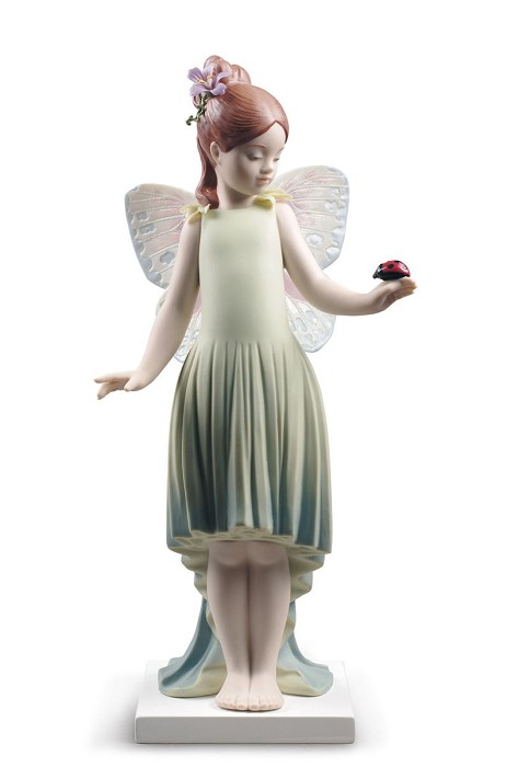Lladro Childhood fantasy Girl Porcelain Figurine