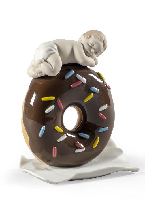 LladroMy Sweet Love Baby BoyPorcelain Figurine