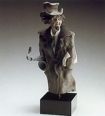 LladroSaxophone PlayerGoyesca Porcelain Figurine