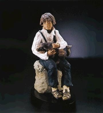 LladroTRUSTING FRIENDGoyesca Porcelain Figurine