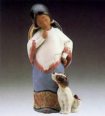 LladroChiquitaPorcelain Figurine