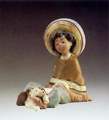 LladroPacoPorcelain Figurine