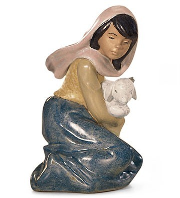 LladroLOST LAMBPorcelain Figurine