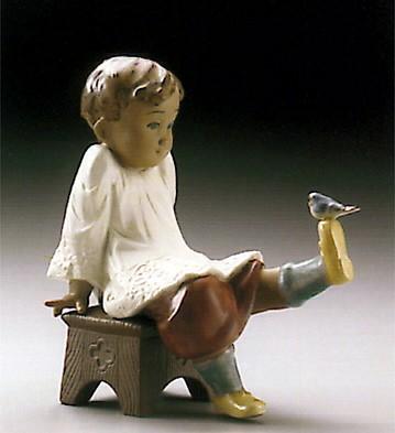 LladroTalk To MePorcelain Figurine
