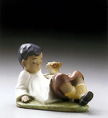 Lladro Taking Time Porcelain Figurine